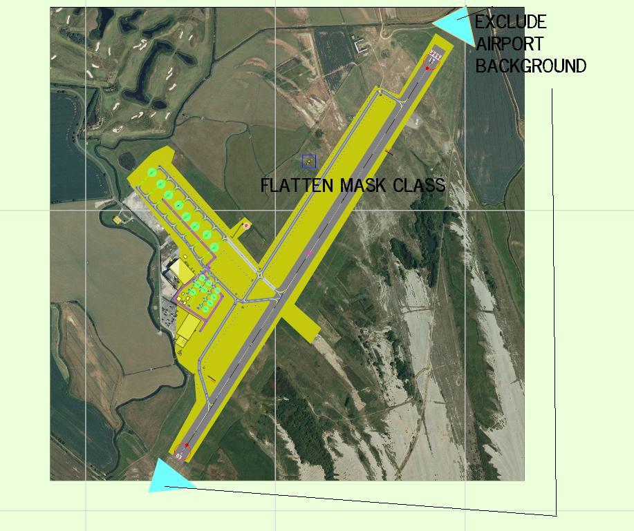 Flatten and exclude airport background | FSDeveloper