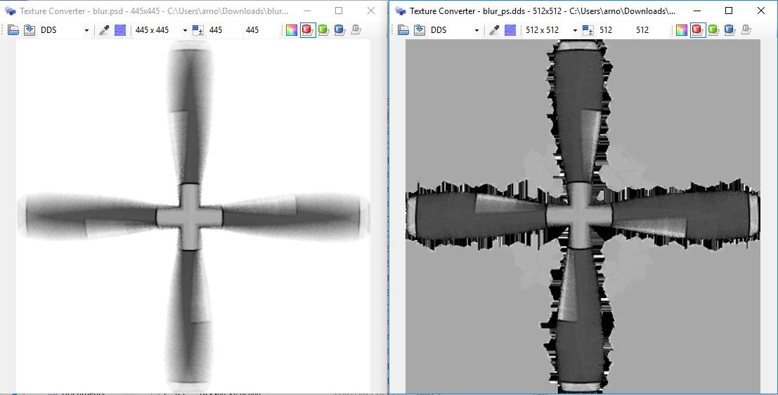 MCX Photoshop/DDS Conversions | FSDeveloper
