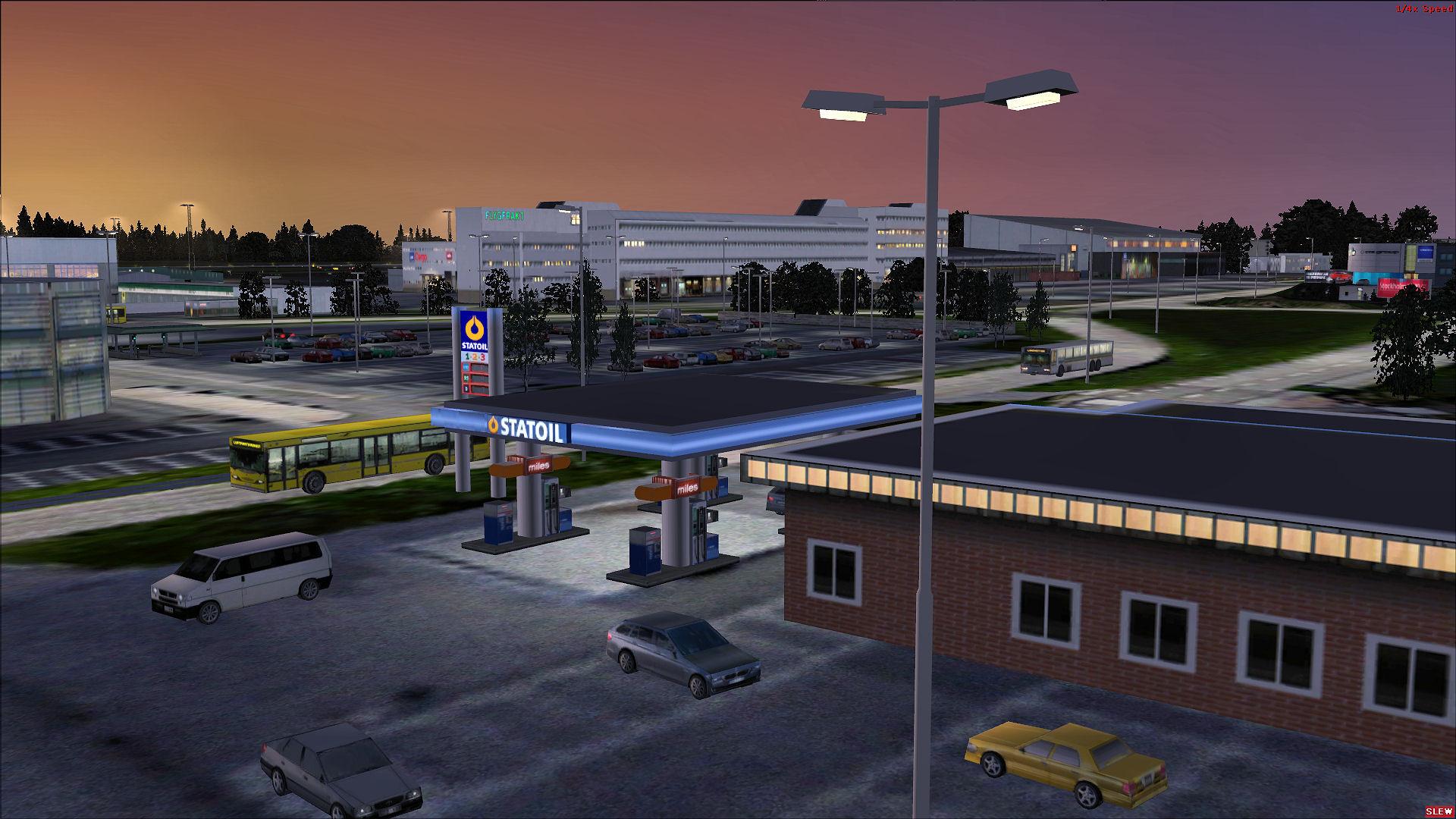 New scenery Göteborg-Landvetter FSX/P3D2 RC-Scenery