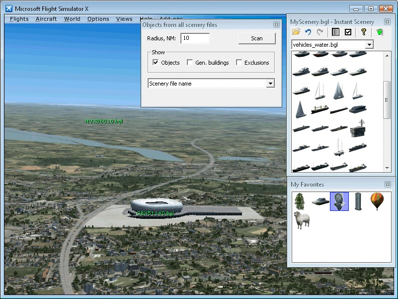FS2004 - Finding a Specific Model in a Specific BGL File | FSDeveloper