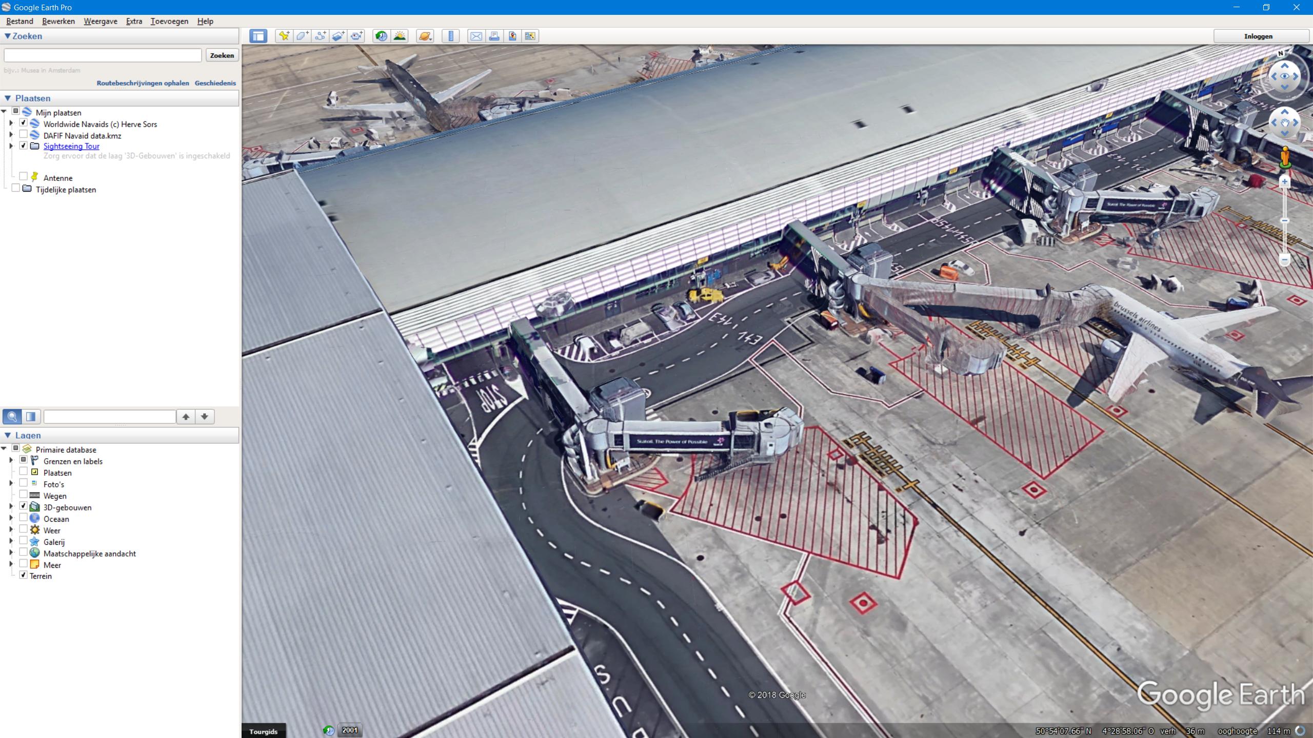 P3D V4 / FSX] EBBR freeware: need a jetway modeller