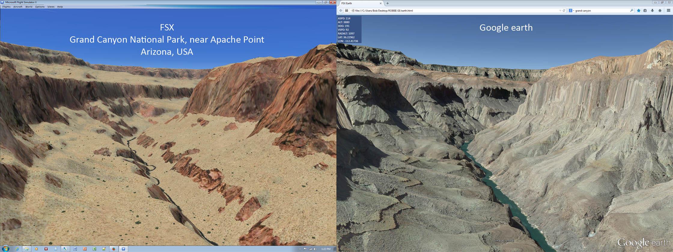 FSX - GE View: Google Earth viewer for FSX thru P3D v3 | FSDeveloper